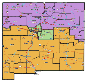 New Mexico Congressional Districts 2012